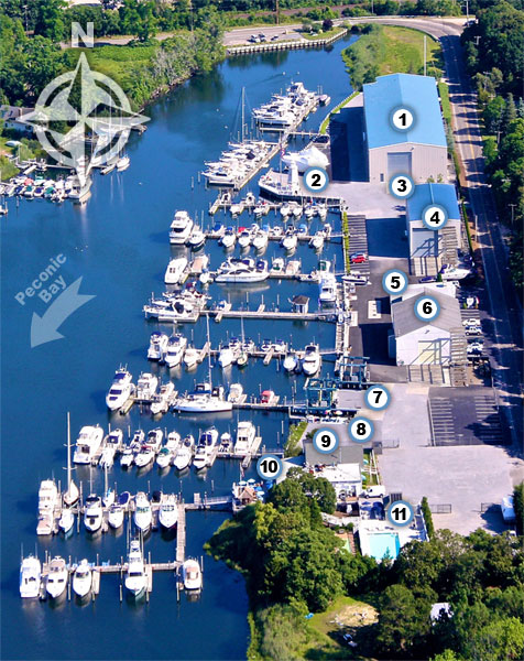 lighthouse marina map