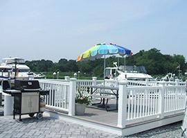 marina picnic and BBQ area